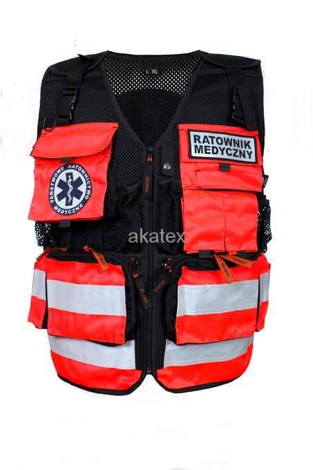Kamizelka taktyczna ratownik medyczny